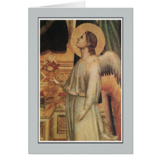 Angels, Ognissanti Madonna, Giotto Card