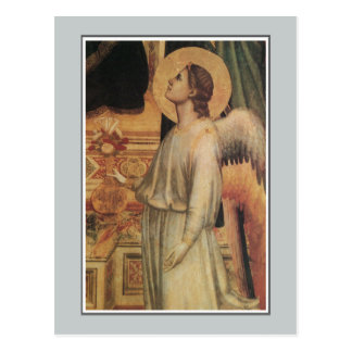 Angels, Ognissanti Madonna, Giotto Postcard