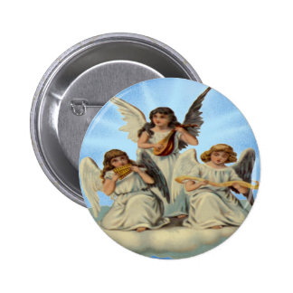 Angels On A Cloud Button