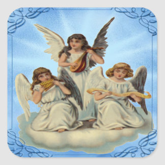 Angels On A Cloud Stickers