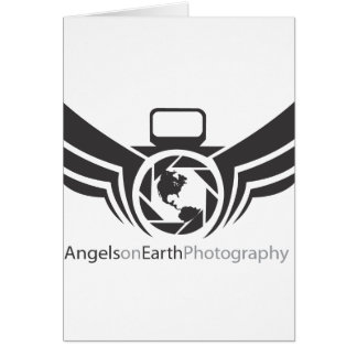 Angels on Earth photography logo Black.pdf Card