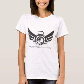Angels on Earth photography logo Black.pdf T-Shirt