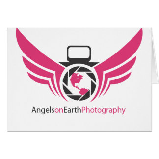 Angels on Earth photography logo Pink.pdf Card