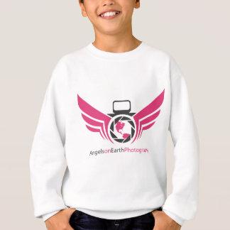 Angels on Earth photography logo Pink.pdf Sweatshirt