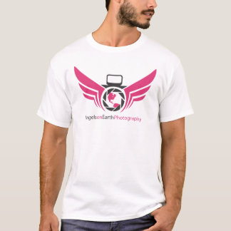 Angels on Earth photography logo Pink.pdf T-Shirt