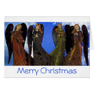Angels on High Christmas Card
