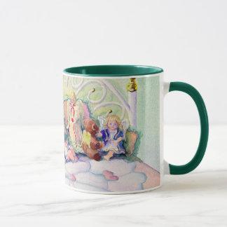 ANGELS ON MY BED by SHARON SHARPE Mug