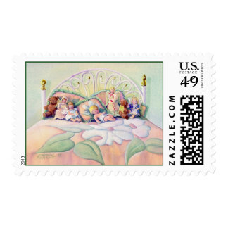 ANGELS ON MY BED by SHARON SHARPE Postage
