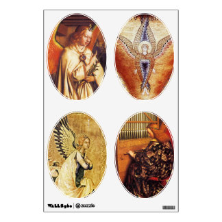 ANGELS OVALE CHRISTMAS COLLECTION WALL DECAL