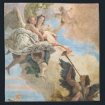 "Angels painted in classic style cloth napkin<br><div class=""desc"">Amaze your friends with the style of the great Italian Renaissance Painters is priceless.</div>"