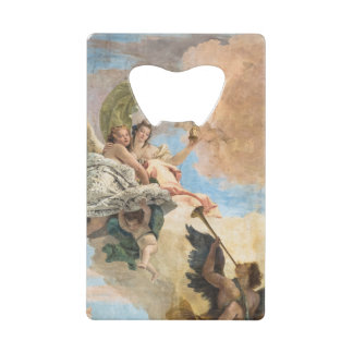 Angels painted in classic style credit card bottle opener