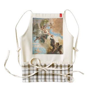 Angels painted in classic style zazzle HEART apron