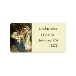 Angels Painting Address Labels