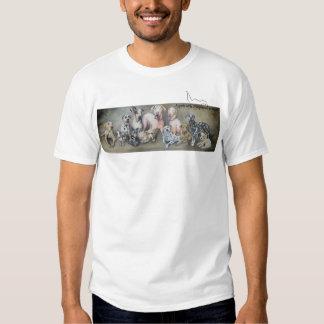 """Angels"" Painting: Light Color Apparrel T-Shirt"