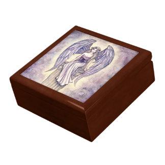 Angel's Perch Lovely Angel Trinket Box