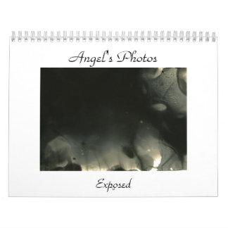 Angel's Photos, Exposed calendar (black & white)