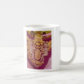 angels pink coffee mug