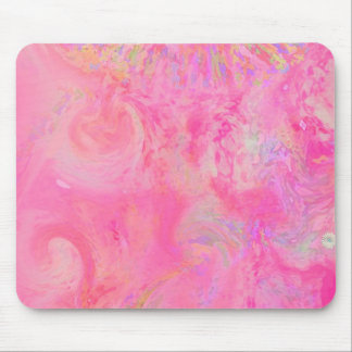 Angels Playground pretty pink abstract / Multiple Mouse Pad
