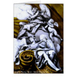 Angels Playing Music Greeting Card