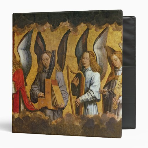 Angels Playing Musical Instruments Binder
