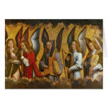 Angels Playing Musical Instruments Card