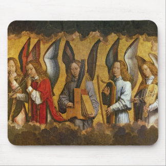 Angels Playing Musical Instruments Mouse Pad