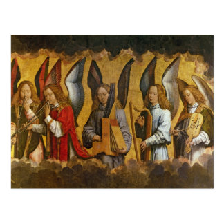 Angels Playing Musical Instruments Postcard