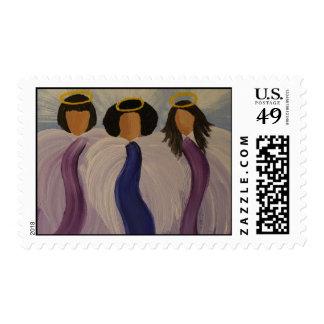 Angels Postage Stamp