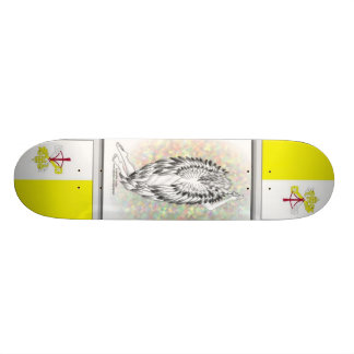 ANGEL'S PRAYER, Holy See - Vatican City Skateboard Deck