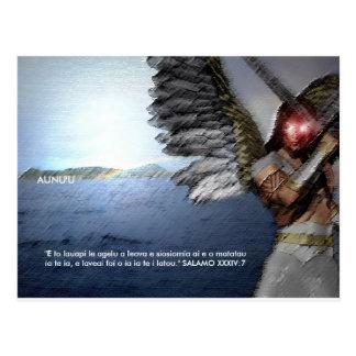 Angels Protect Aunu'u Postcard