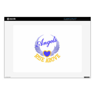 """Angels Rise Above 15"""" Laptop Decals"""