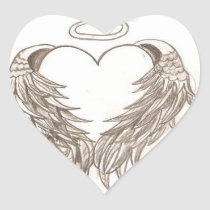 Angels``s lifes/ heart sticker