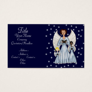 Angels Singing Carols Business Card