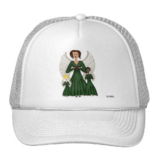 Angels Singing Carols (Green) Trucker Hat
