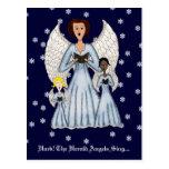 Angels Singing Carols Postcards