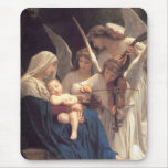 Angel's Song to Jesus Mousepads