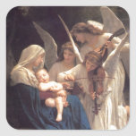 Angel's Song to Jesus Stickers