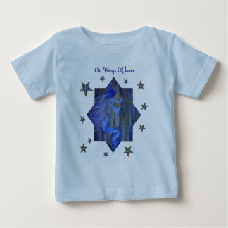Angels Teach Us How...To Find Our Wings. Baby T-Shirt
