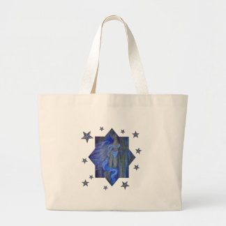 Angels Teach Us How...To Find Our Wings. Large Tote Bag