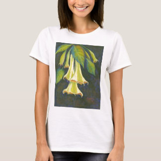 Angels Trumpet by Joan Landis T-Shirt