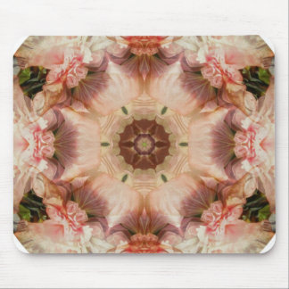 Angel's trumpet flower mandala - Mousepad