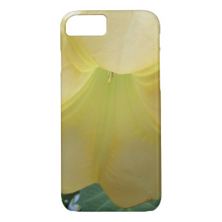 Angels Trumpet Golden Yellow Flower iPhone 8/7 Case