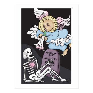 Angel's Trumpet Postcard