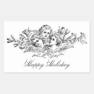 Angels Vintage Art Custom Gift Sticker