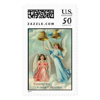 Angels Vintage Christmas Stamps