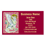 Angels Walk On 4 Paws Business Card
