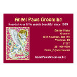 Angels Walk On 4 Paws Chubby Card Business Cards