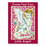 "Angels Walk On 4 Paws Invitation 5"" X 7"" Invitation Card"