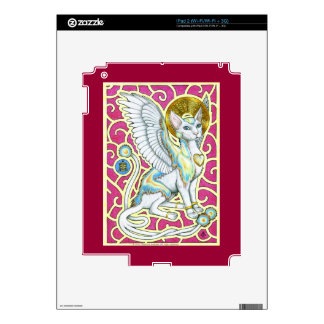 Angels Walk on 4 Paws iPad 2 Skin