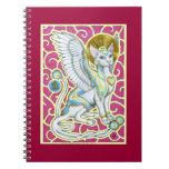 Angels Walk on 4 Paws Notebook
